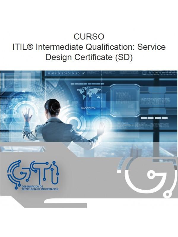 Gti Itil Intermediate Qualification Service Design Certificate Sd