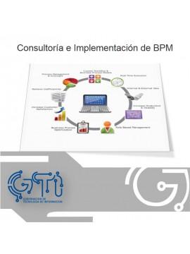 Consultoría e Implementación de Procesos de Negocio - BPM