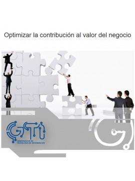 Optimizar la contribución al valor del negocio